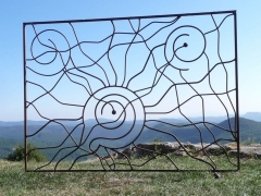 Sculptures et Land-Art en Ferronnerie