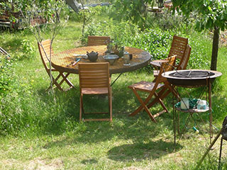 Table d'Hoste et barbecue
